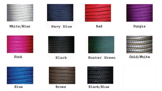 Natural Horsemanship Rope Colors