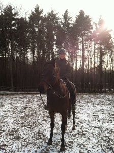 Henley and I about to go on a trail ride. Snow rides are the best, enjoy the New England winter while it lasts!
